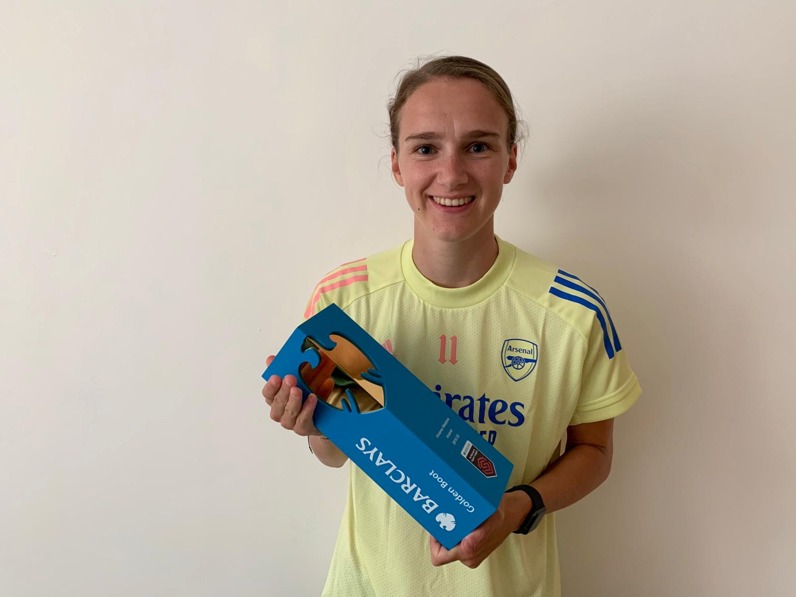 FAWSL Goldent Boot winnerVivianne Miedema