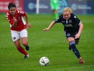 Charlton's new signing, Beth Lumsden