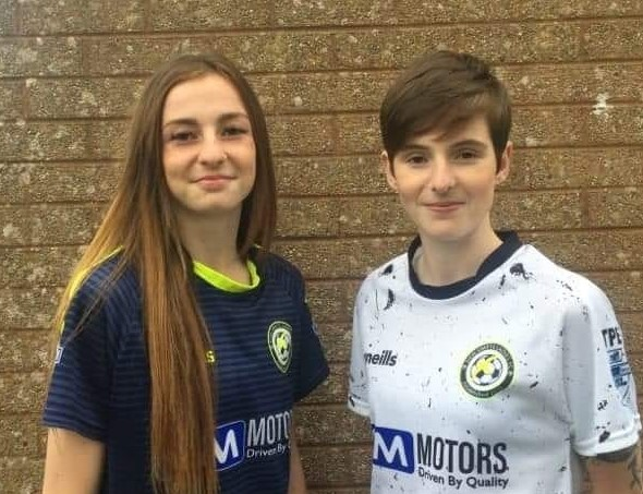 Sions Swifts' Caitlin and Kirsty McGuiness