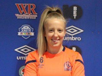 Blackburn Rovers new signing, Charlotte Newsham