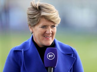 BT Sport presenter, Clare Balding