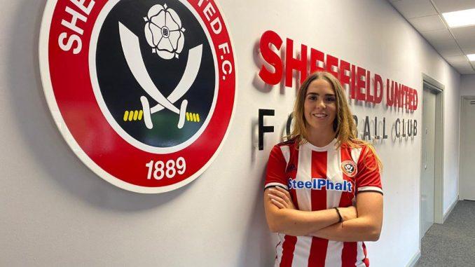 Sheffield United's new signing, Ellie Wilson