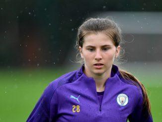 Bristol City's new signing, Emma Bissell