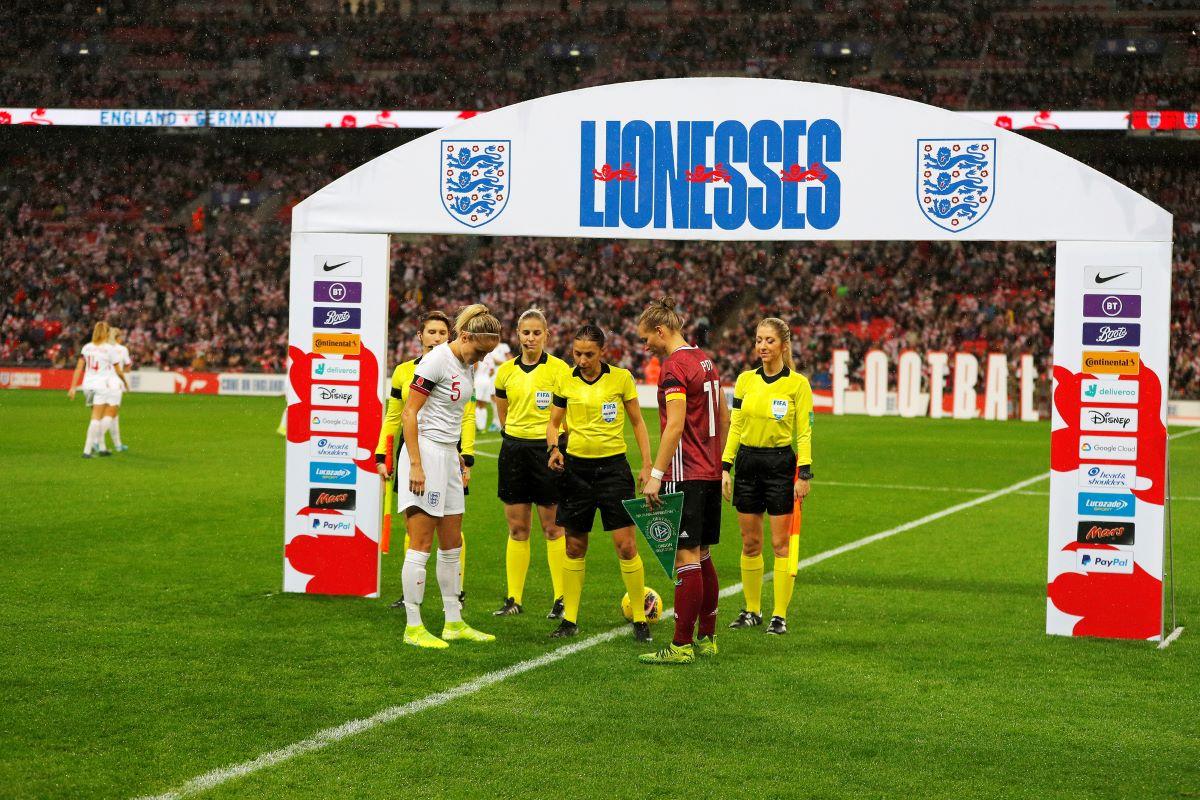 England v Germany coin toss