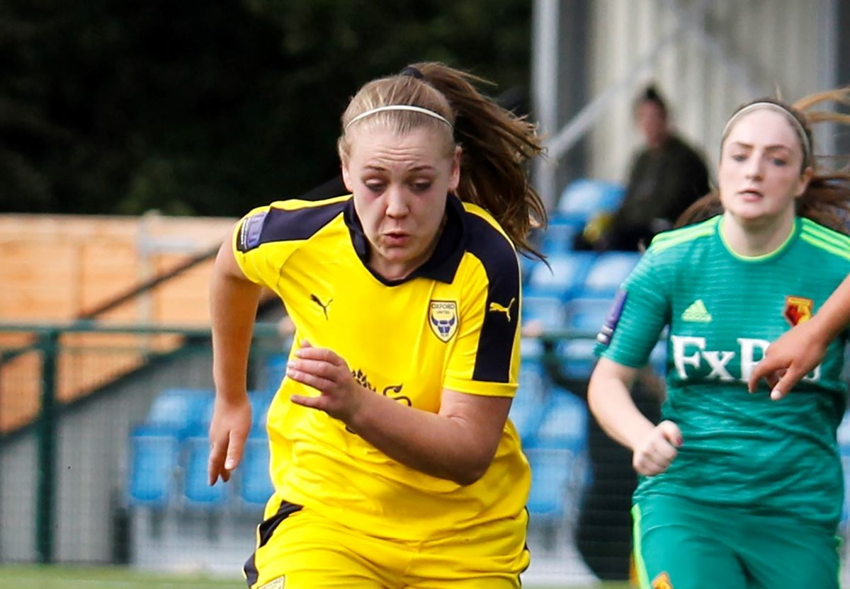 Lewes's latest signing, Georgia Timms