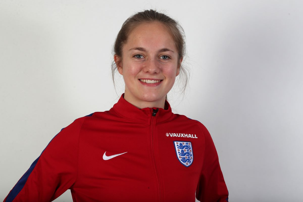 Lewes's latest signing, Hannah Griffin