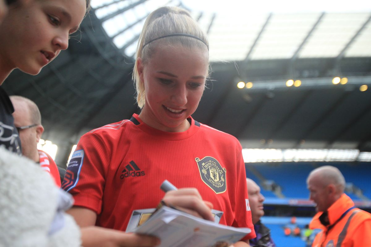 Manchester United's Jackie Groenen