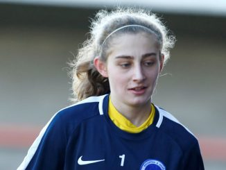 Lewes new signing Laura Hartley