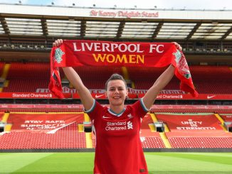Liverpool's new signing, Meikayla Moore
