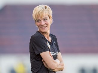 Republic of Ireland head coach, Vera Pauw