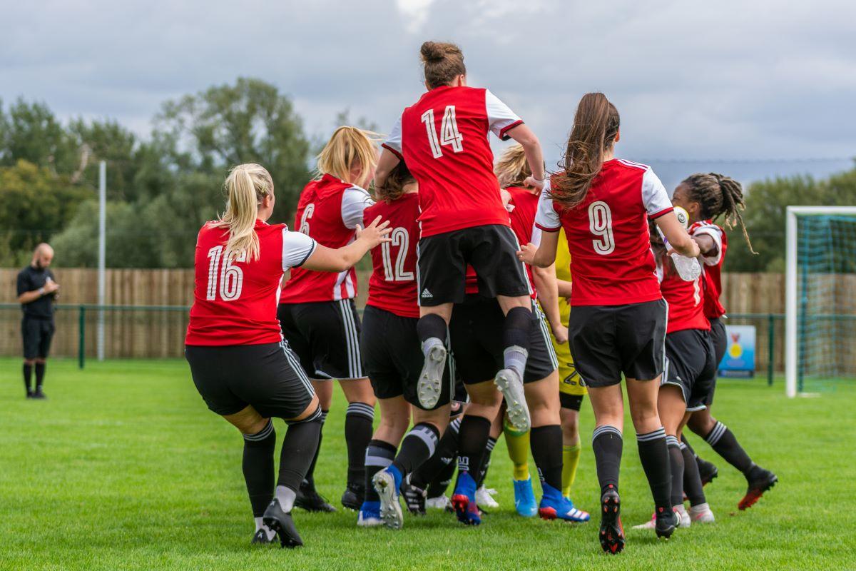 Brentford celebrate a win on penalties