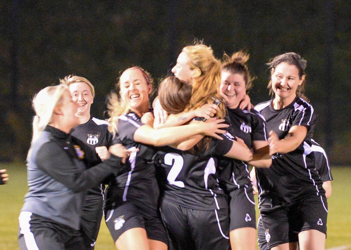 Ballymacash Young Ladies won on penalties
