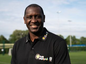 LCFC Women's ambassador Emile Heskey