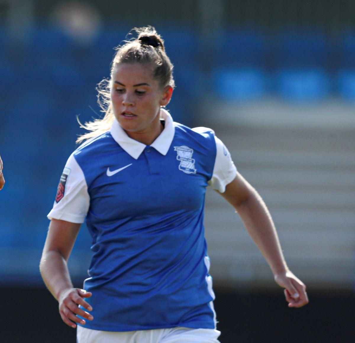 Scorer of Birmingham City's winning penalty, Georgia Brougham