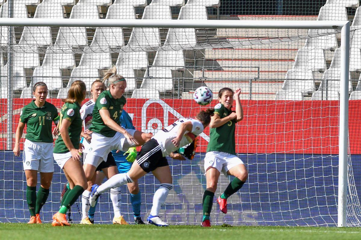 gemrny's opening goal against Republic Of Ireland