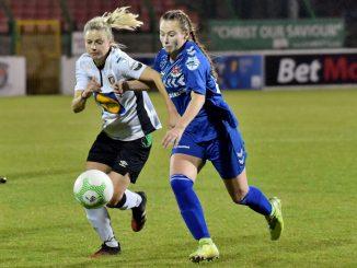 Glentoran were 1-0 winners over Crusaders Strikers.