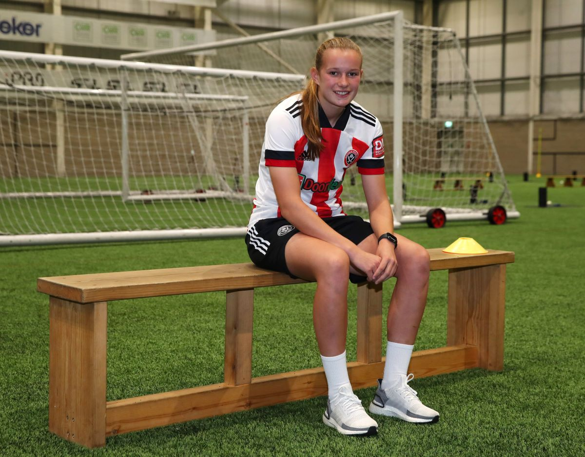 Sheffield United's loan signing, Hannah Coan