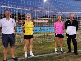 Crawley Wasps players at Horley Town