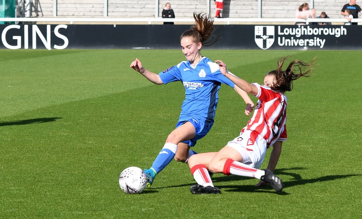 Loughborough Foxes drew with Stoke City.
