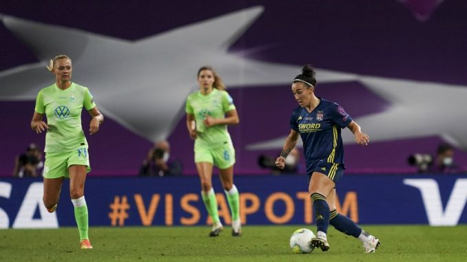 Oe of the nominees, Lucy Bronze