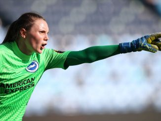 Brighton goalkeeper Megan Walsh