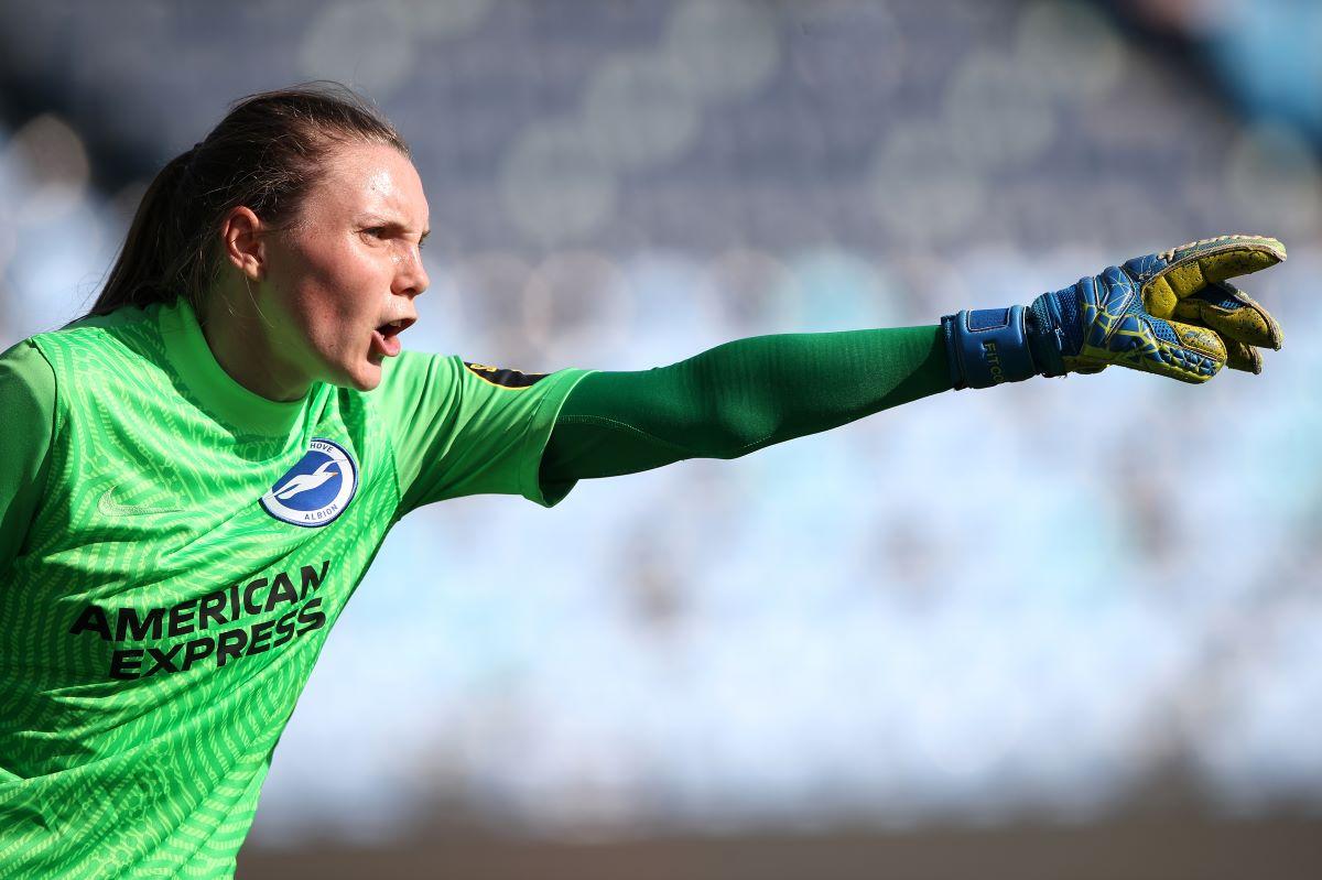 Brighton goalkeeper Megan Walsh