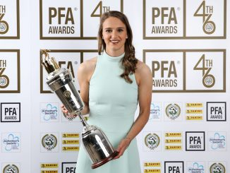 ivianne Miedema won PFA Women's Player of the Year in 2019