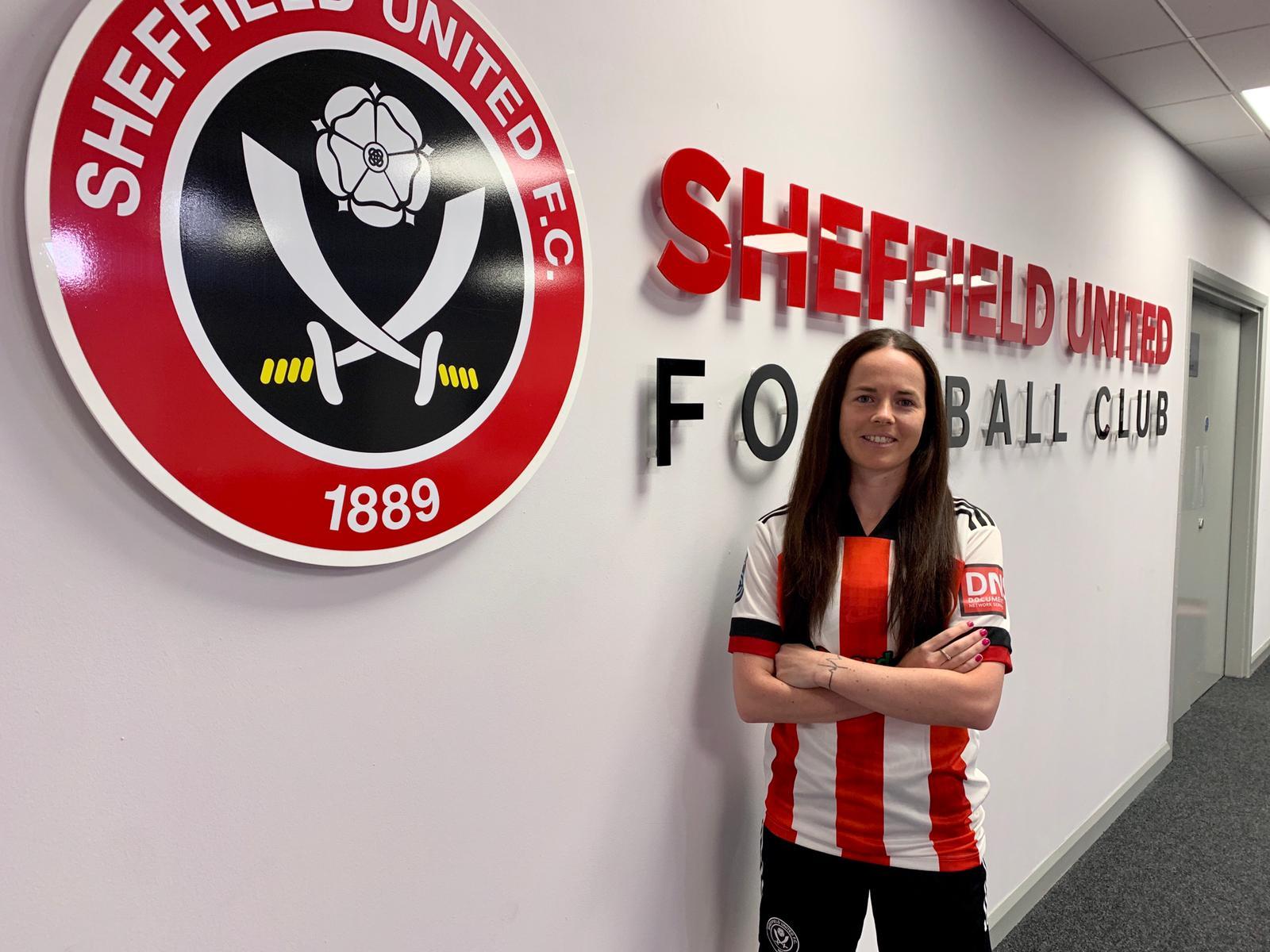 Sheffield United's new signing, Olivia Chance