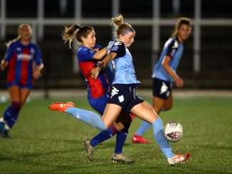 London City Lionesses' Poppy Wilson shoots