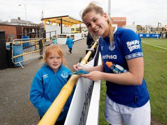 Birminghham City's new signing, Georgia Brougham