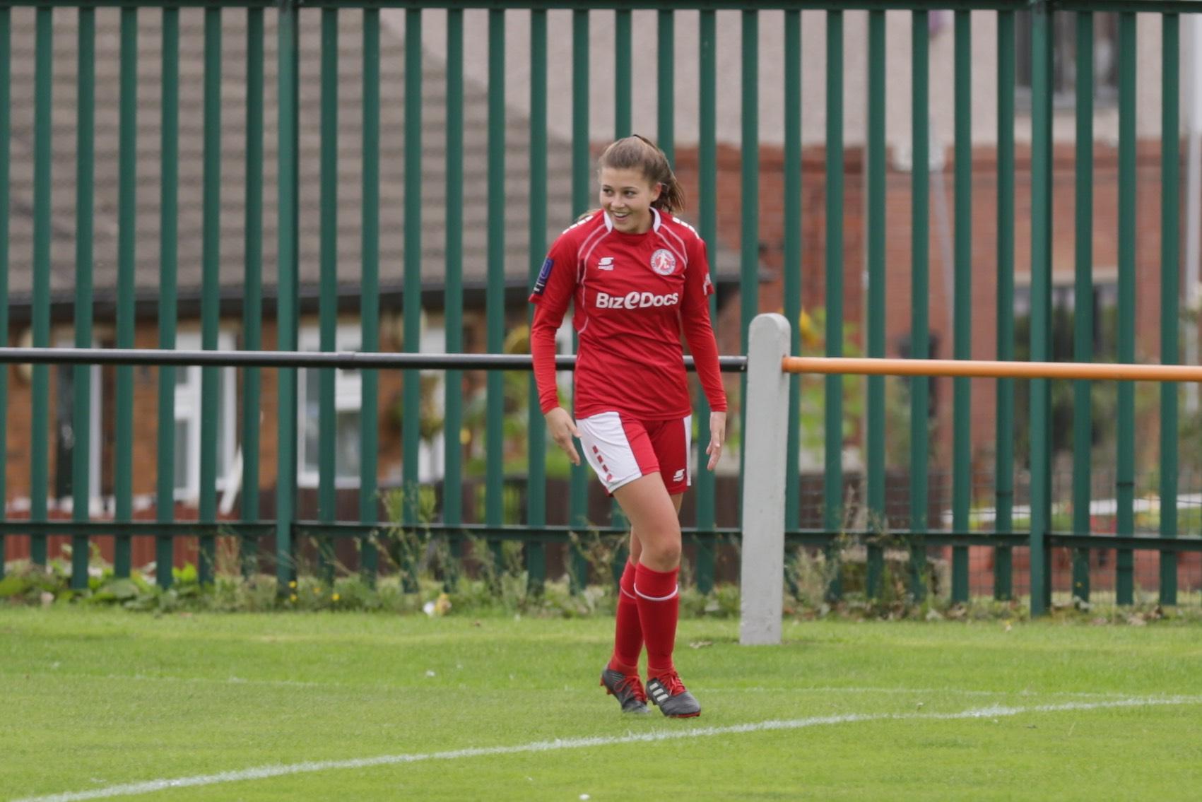 Barnsley's three-goal Emily Pierrepont