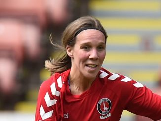 Charlton Athletic's new signing, Charlotte Gurr