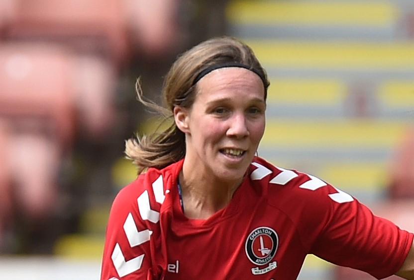Charlton Athletic's new signing, Charlotte Gurr
