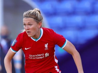Amalie Thestrup got Liverpol's second goal