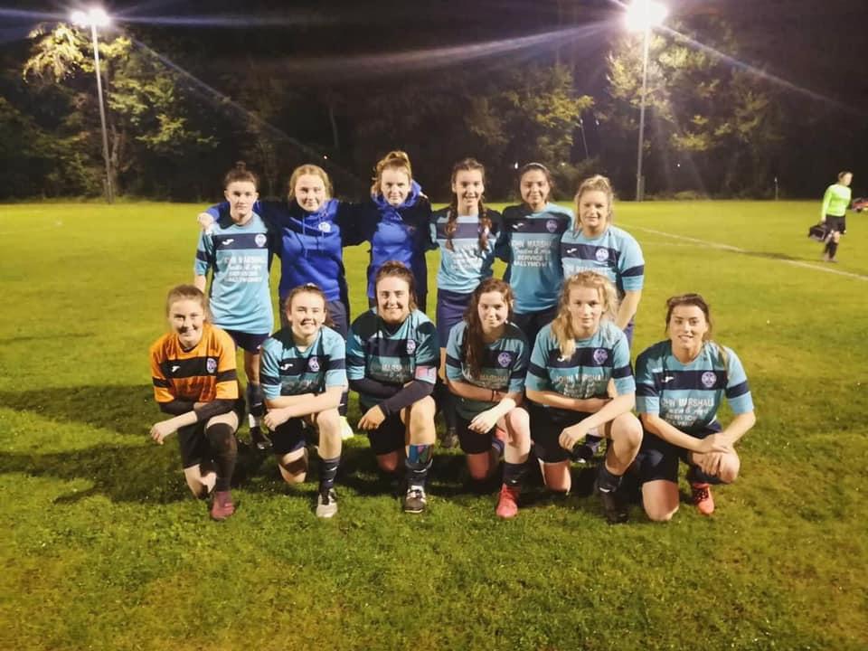 NIWFA Cup semi-finalists, Ballymoney United