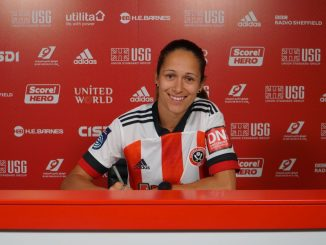 Sheffield United's new signing, Courtney Sweetman-Kirk