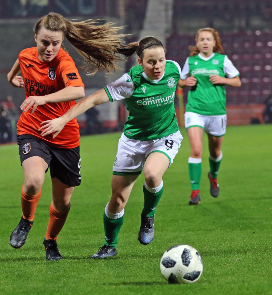 Glasgow City;s new signing Cailin Michie