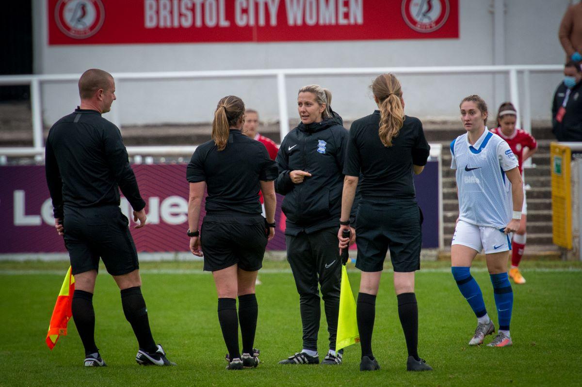 Birmingham City boss, Carla Ward