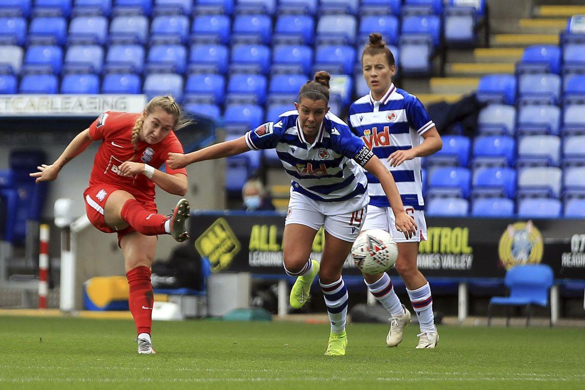 Birmingham scorer, Claudia Walker