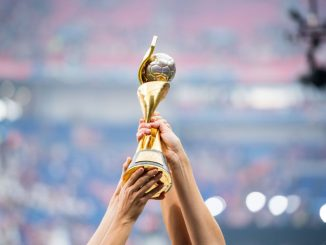 FIFA Women's World Cup held aloft