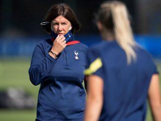 Spurs joint head coach, Karen Hills