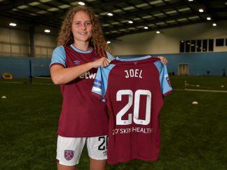 West ham's new signing, Lois Joel