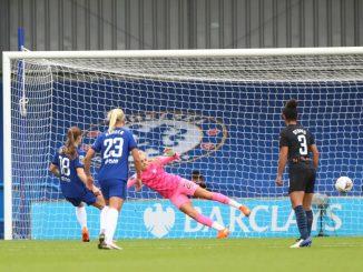 Maren Mjelde penalty