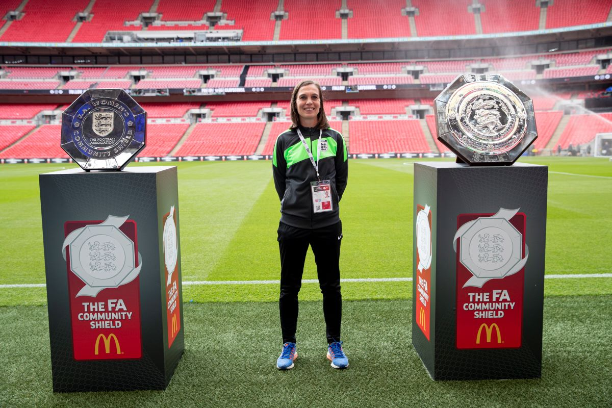Cup Final Assistant Referee, Natalie Aspinall
