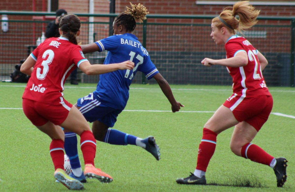 Leicester City's Paige Bailey Gayle