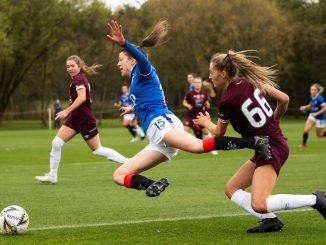 Rangers's two-goal Lizzie Arnot