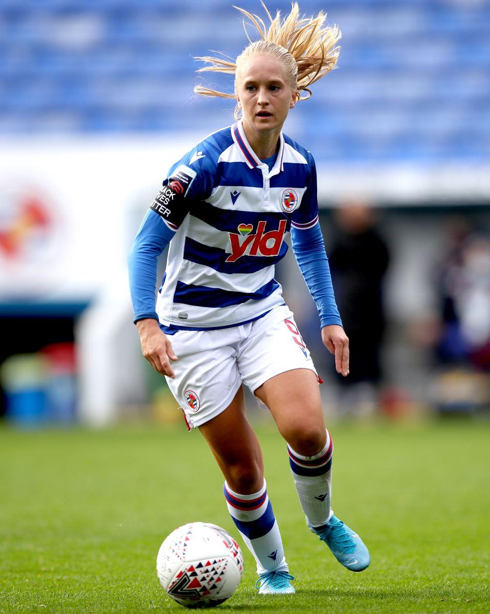 Reading's goal scorer Amalie Eikeland