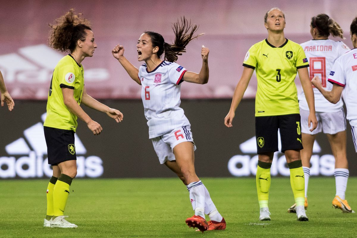 Aitana Bonmati scored Spain's third goal.