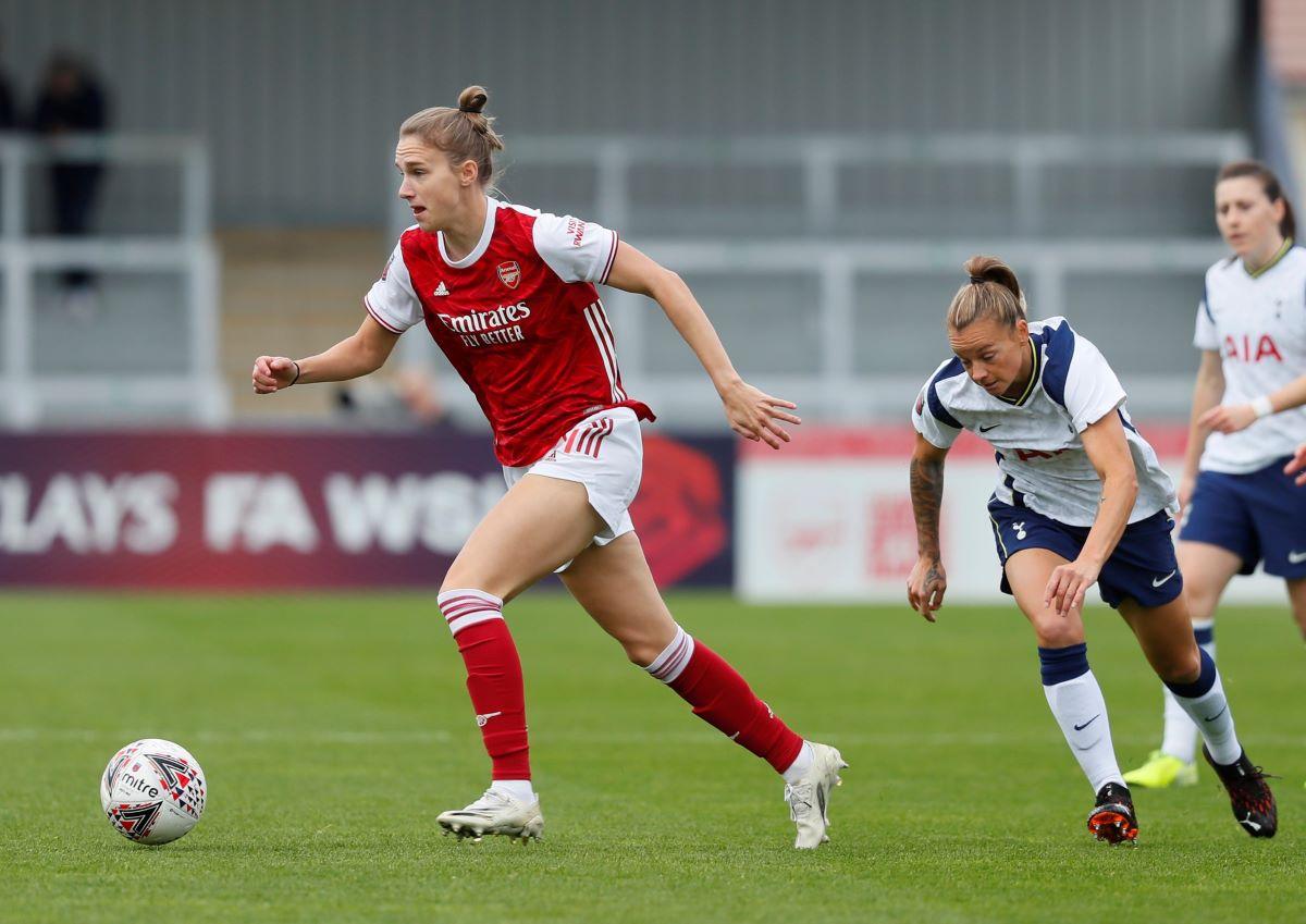 Arsenal's Vivianne Miedema became the allt-ime top WSL goal-scorer