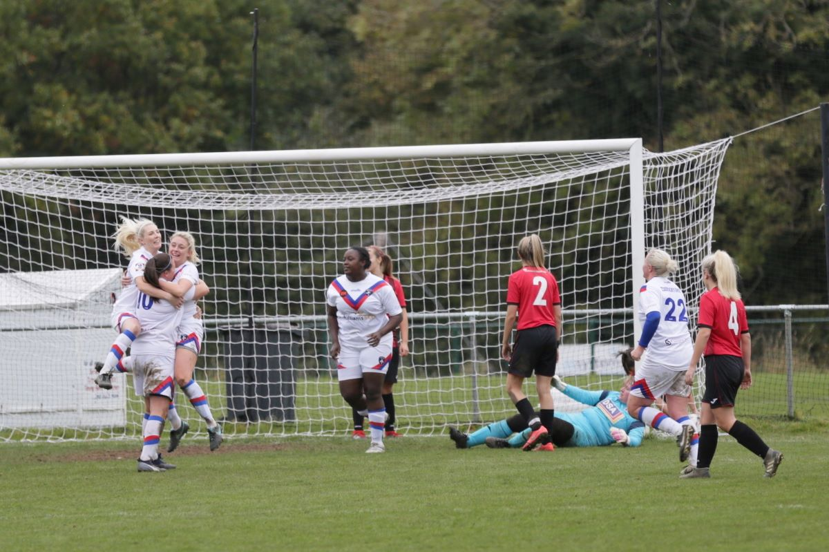Wakefield Trinity celebrating their third goal